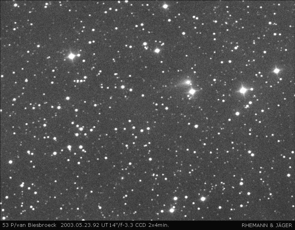 komeet Van Biesbroeck